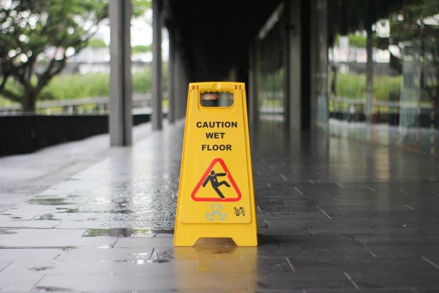 Wet Floor Slip And Fall